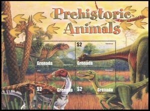Grenada 2005 MNH SS, Prehistoric Animals, Dinosaurs