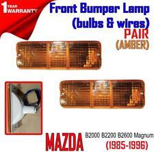 Mazda B2000 B2200 B2600 Magnum M323 1985-98 Front Bumper Turn Signal Lights