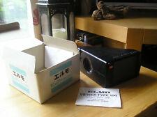 boxed retro Elmo film projector viewer type-100 + manual+ accessories vgc