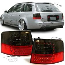 REAR TAIL LED LIGHTS RED-SMOKE FOR AUDI A6 C5 97-05 AVANT LAMPS