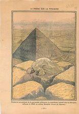 Prière Musulman Allah Islamic Muslim Pyramide Egypte Egypte la Mecque Mecca 1934