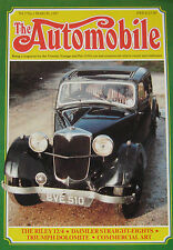 The Automobile magazine Vol.5, No.1 03/1987 featuring Riley, Daimler, Triumph