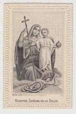 Nostra Signora della Salute Madonna Santino Canivet immagine Sacra 800