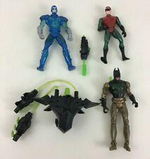 Batman Robin Mr Freeze Vintage Action Figures Superhero Lot 5pc Toys Dc Kenner