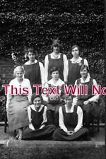 DO 458 - Girls Sports Team, Sherborne School, Dorset 1920s - 6x4 Photo