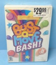 BUST-A-MOVE BASH! (Nintendo Wii, 2007) BRAND NEW FACTORY SEALED