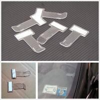 5x Car Vehicle Motorhome Truck Windscreen Parking Ticket Clip Holder Work Pass