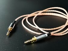 1Meter OCC Stereo 3.5mm Male To Male Audio Cable Aux Wire