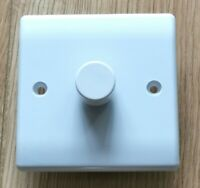 Push on/off Trailing Edge LED Dimmer Switch 1 Gang for 1 and 2 Way soft edge