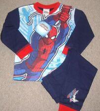 Pyjamas bleu 3 ans pour garçon de 2 à 16 ans en 100% coton