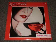 Sad Cafe~Misplaced Ideals~1978 Pop Rock~White Label PROMO~FAST SHIP!!
