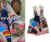 WWE BIG E RING WORN HAND SIGNED AUTOGRAPHED NEW DAY SINGLET WITH PROOF AND COA 3