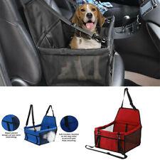 Pet Car Seat Carrier Cat Dog Puppy Travel Safe Cage Booster Belt Seat Bag