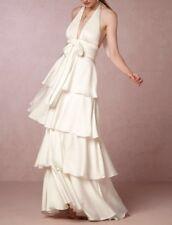 NWT Jill Stuart Billie Tiered Wedding Dress Size 10 BHLDN