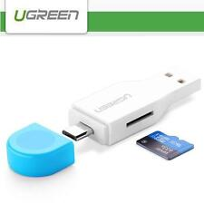 UGREEN 2 in 1 USB 2.0 Micro USB OTG TF SDHC SDXC Card Reader Adapter