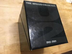 U2 The Singles Collection 1981-1989 cd box set Bono Joshua Tree import