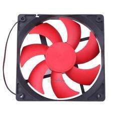 Mini 12cm 120mm DC12V 1800R 120x120x25mm  2Pin Cooling Fan for PC Computer