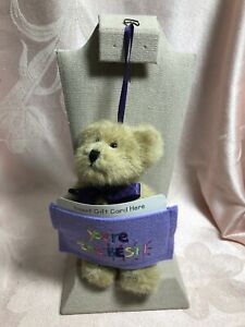 Boyds Bears Bear Gift Card Holder ~ You're The Best