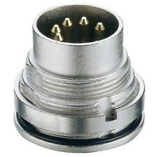 LUMBERG 0315 03 3 Broches Mâle prise DIN IEC 60130-9 arrière Montage panneau