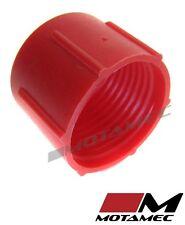 Motamec AN JIC -8 AN8 Tapa De Plástico Para Manguera De Combustible Cubierta de polvo rojo