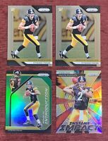 Lot of (4) 2018 Prizm MASON RUDOLPH Rookie #225 Green Refractor RC Steelers🔥
