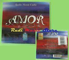 CD AMOR MONTE CARLO LATINO 5 compilation 2013 SIGILLATO BOCELLI CHER  (C21)