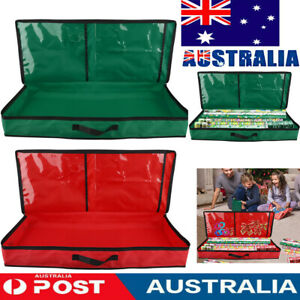 Christmas Wrap Storage Bag for 30 Inch Wrapping Paper-Underbed Home Storage Fast