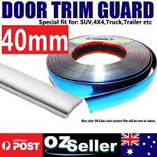 5M x 40mm DIY Moulding Chrome Silver Trim Car Door Bumper Trunk Grille Strip