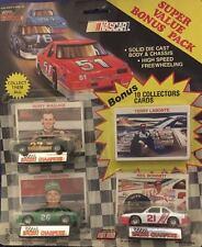 1990 RACING CHAMPIONS SUPER VALUE BONUS PACK W/ 10 BONUS CARDS 3 - PACK  # 3