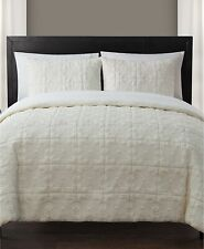 VCNY Home 3 Piece King Comforter Set Iron Gate Quilted Ivory E96246