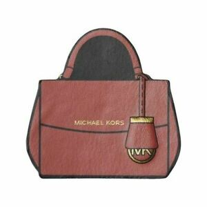 Michael Kors Never Have Too Many Bags Leather Luggage Backpack Laptop Sticker