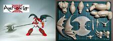 ANIME MODEL RESIN KIT - SHIN GETTER ROBOT 真ゲッターロボ GETTER ONE WITH MEGA AXE