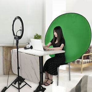 Chromakey Cloth Round Collapsible Long-lasting Green Background