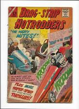 "DRAG-STRIP HOTRODDERS #6 [1965 GD+] ""THE MIGHTY MITES!"""