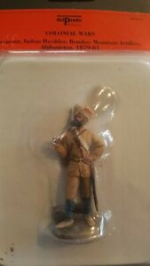Del Prado Toy soldiers  Rare- from the closing days.RAJPUT/ Indian Soldiers