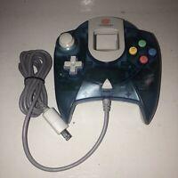 VGC Sega Dreamcast Controller CLEAR BLUE HKT-7700 TESTED Works Great OEM GENUINE
