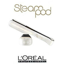 L'Oreal Steampod Hair Straighteners New Steam Pod 2.0 White Fast&Free Delivery