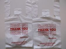 94 ct  ,PLASTIC SHOPPING BAGS ,T SHIRT TYPE, GROCERY ,WHITE  SMALL SIZE BAGS.