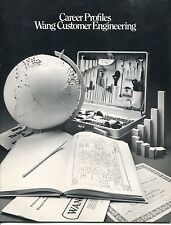 "1979 Wang Large Brochure: ""Wang Customer Engineering"""