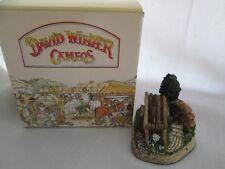 David Winter Cameo Greenwood Wagon Miniature Cottage 1991 Doll House Fairy
