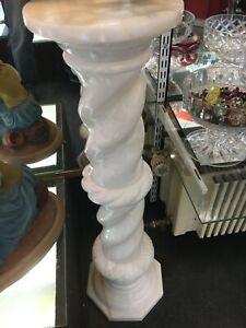 1 Column Marble White