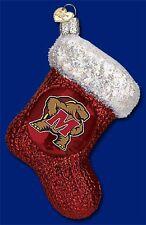 """Maryland Stocking"" (61908) Old World Christmas Glass Ornament"