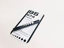 Brand New Rosenbaum Pocket Eye Chart With LED Pupil Gauge Medical Penlight
