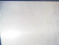 "Sheet 347 Perforated Stainless Steel 12"" X 10"" New AEROSPACE GRADE Material HHO"
