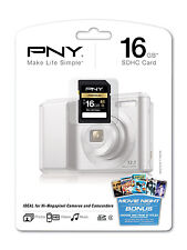 PNY 16G SDHC hi-cap SD card for Nikon P100 P500 D40 D40X D50 D60 D80 D90 camera