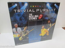 ROLLING STONES TRIVIAL PURSUIT ROCK & ROLL MICK JAGGER BOARD GAME