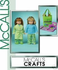 """Reduced!!  McCALL's 5019 Pajama Party  for your 18"""" Doll Pattern"""