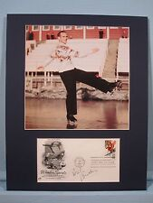 Dick Button wins the Gold at the 1948 and 1952 Winter Olympics & his autograph