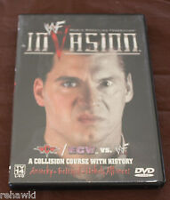 WWF INVASION 2001 (DVD, 2001) WWE *RARE*