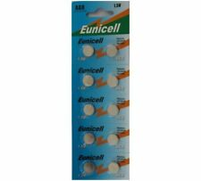 10 x AG8 381 391 L1120 LR1120 L1121 ALKALINE BATTERY COIN CELL REMOTES EUNICELL